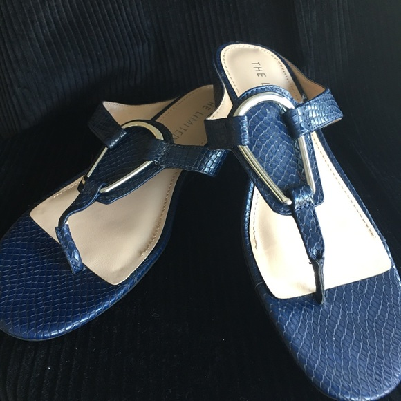 Limited Navy Womens Sandals Size